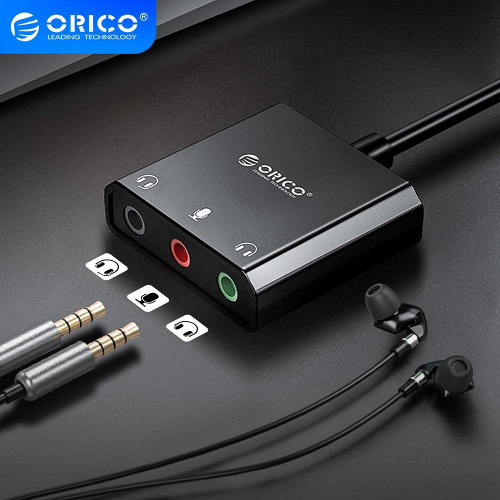 ORICO-tarjeta de sonido USB externa para auriculares, adaptador de interfaz de Audio para auriculares, para Windows, Mac y Linux con micrófono y tarjeta de sonido Interfaz de botella de coque, boquilla Manual para pistola de plástico, cabezal de riego por pulverización opcional, boquilla de 360 grados, interfaz de 26mm, 1 Uds.