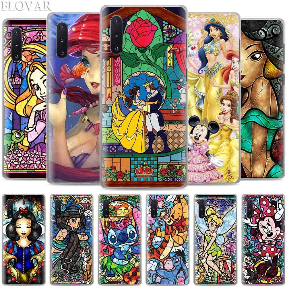 Cute Minnie Princess Phone Cases for Samsung Galaxy Note 10 S10 Plus 5G S10e A30 A40 A50 A60 A70 M40 Hard Cover Coque