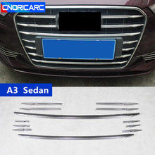 CNORICARC For Audi A3 Sedan Car Front Air Grille Cover Trim