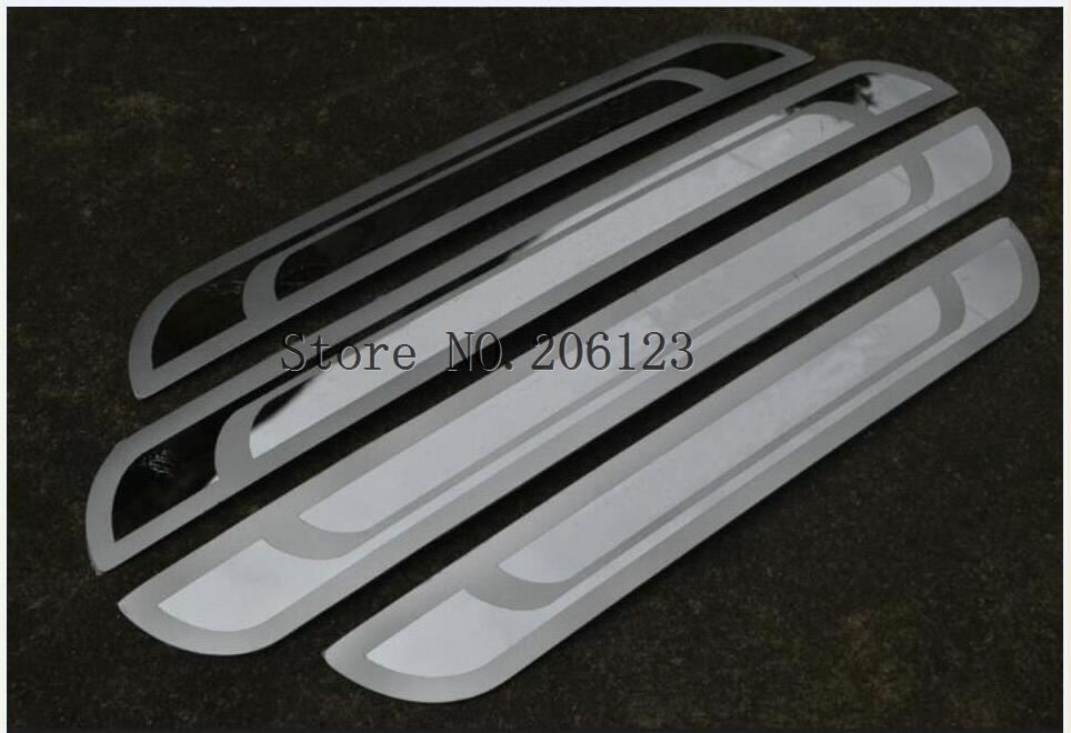 For Peugeot 3008 408 301 508 308 307 206 New Stainless slim Door Sill Scuff Plat