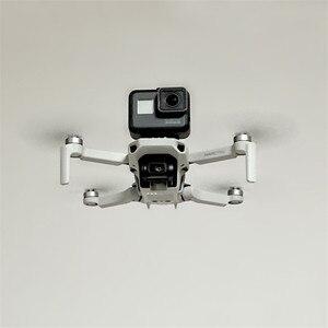 Image 5 - Mount Bracket Houder 1/4 Schroef Voor Dji Mavic Mini Drone Extended Adapter Voor Insta 360 Actie Camera Voor Gopro 8 accessoires