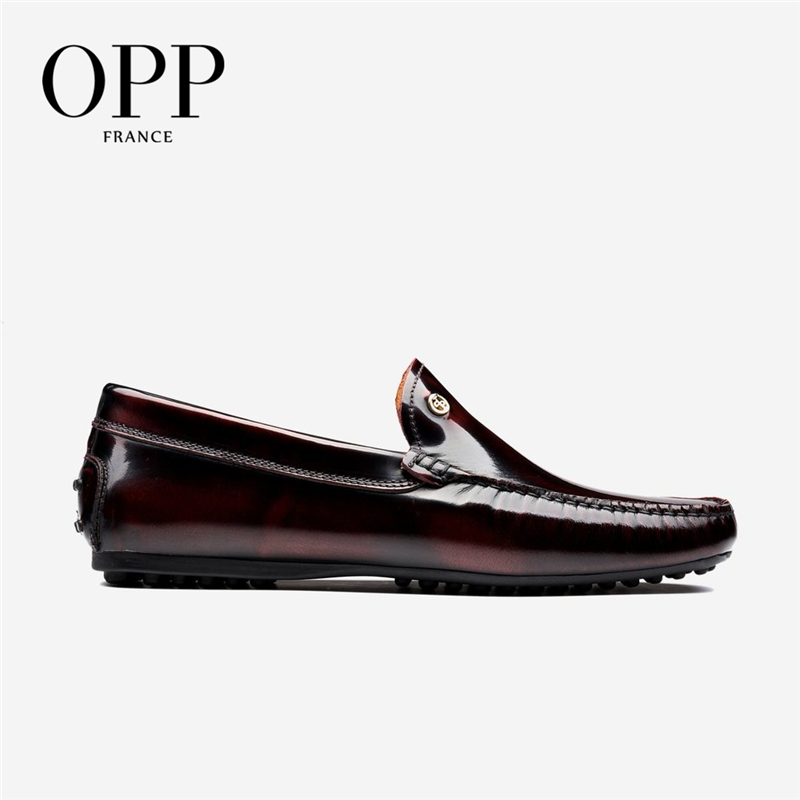OPP Men's Shoes Comfortable Driver Shoes For Men Flats  Genuine Leather Moccasins Summer  Cow Leather Shoes Casual  Loafers