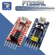 Ft232rl ft232 ftdi 3.3v 5.5v serial conversor adaptador módulo mini porto para arduino pro mini usb a ttl 232