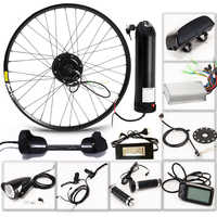 """CASDONA Electric bicycle 36V 350W kit for 26"""" 27.5"""" 29"""" inch wheel motor kettle battery LED LCD electric car Ebike bicycle bikes"""