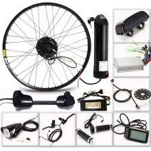 CASDONA Electric bicycle 36V 350W kit for 26 27.5 29 inch wheel motor kettle battery LED LCD electric car Ebike bikes