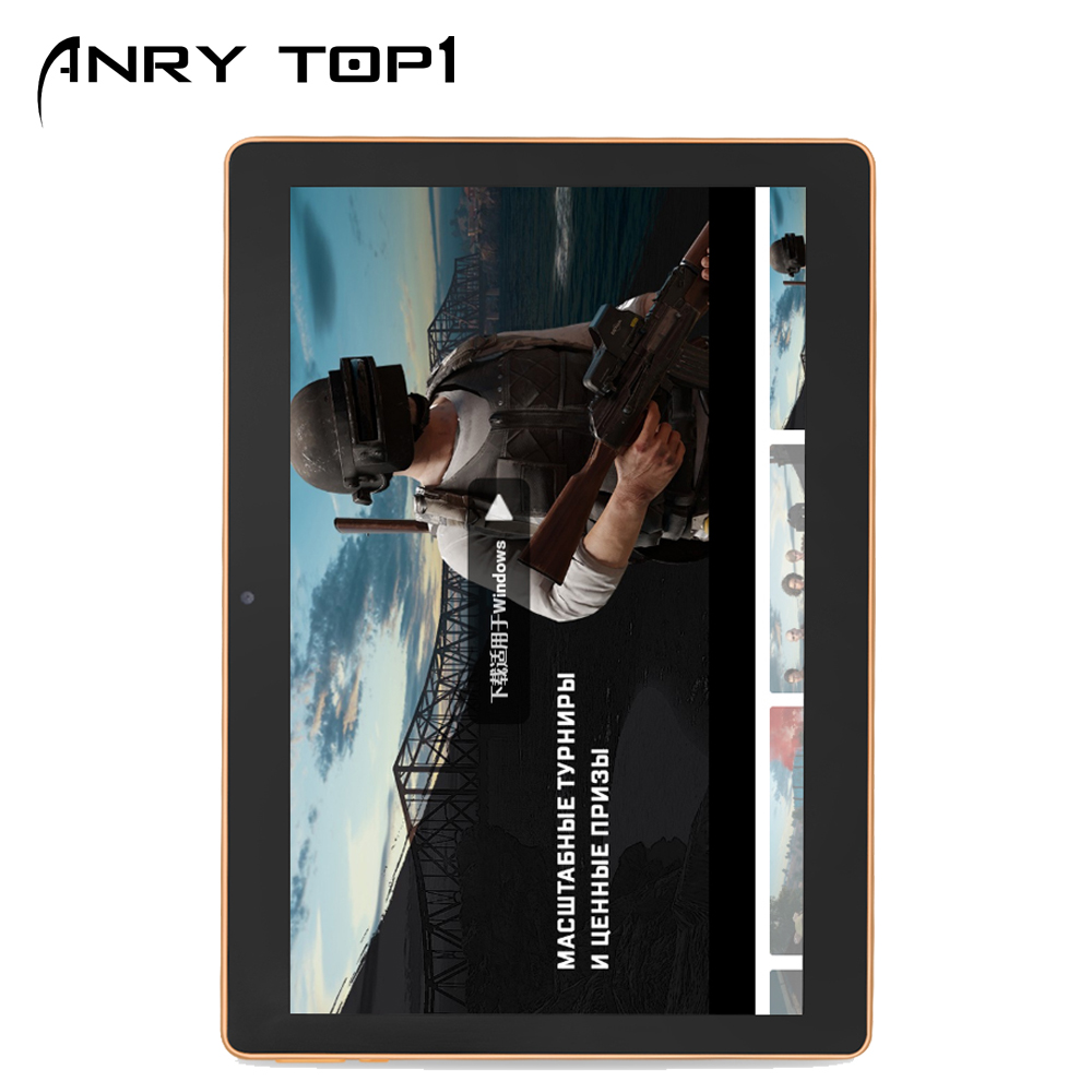 10 Inch Android Tablet With Sim Card Slot Unlocked IPS Octa Core 4GB RAM 64GB ROM GSM Phablet Tablets With WiFi GPS Bluetooth