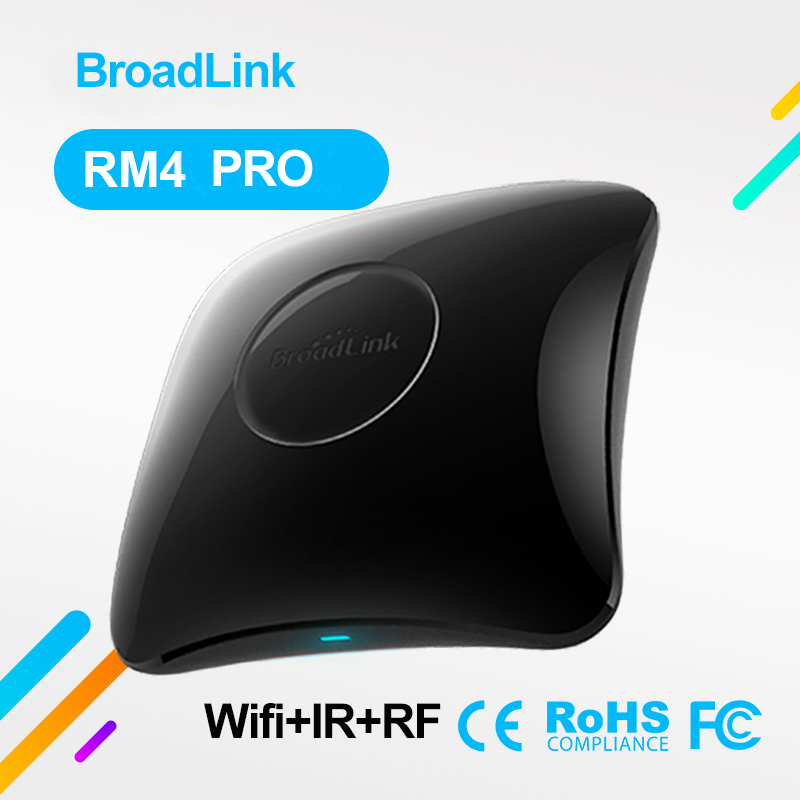 2020 Newest Broadlink RM4 Pro Wireless Wifi IR RF Smart Home Universal Intelligent Remote Controller Work With Alexa Google Home