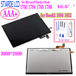 STARDE LCD For Microsoft Surface Book1 Book 1 1703 1704 1705 1706 Book2 1806 1832 LCD Display Touch Screen Digitizer Assembly
