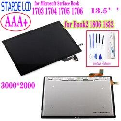 STARDE LCD Voor Microsoft Oppervlak Book1 Boek 1 1703 1704 1705 1706 Book2 1806 1832 Lcd Touch Screen Digitizer montage