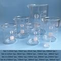 Высокое качество 1 комплект лабораторное боросиликатное стекло стакан все размеры химического оборудования все размеры Pyrex мерный стакан