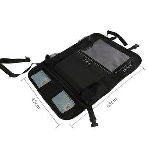 Image 3 - 2021 comodo seggiolino auto Organizer posteriore custodia multi tasca custodia custodia per auto custodia per Tablet supporto per Tablet organizzatore