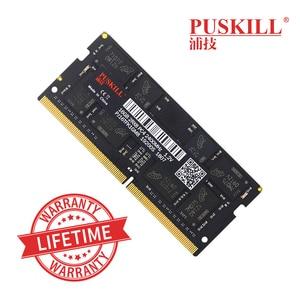 Image 1 - PUSKILL memoria Ram DDR4 8 ГБ 4 ГБ 16 ГБ 2400 МГц 2133 2666 МГц sodimm ноутбук высокая производительность памяти ноутбука