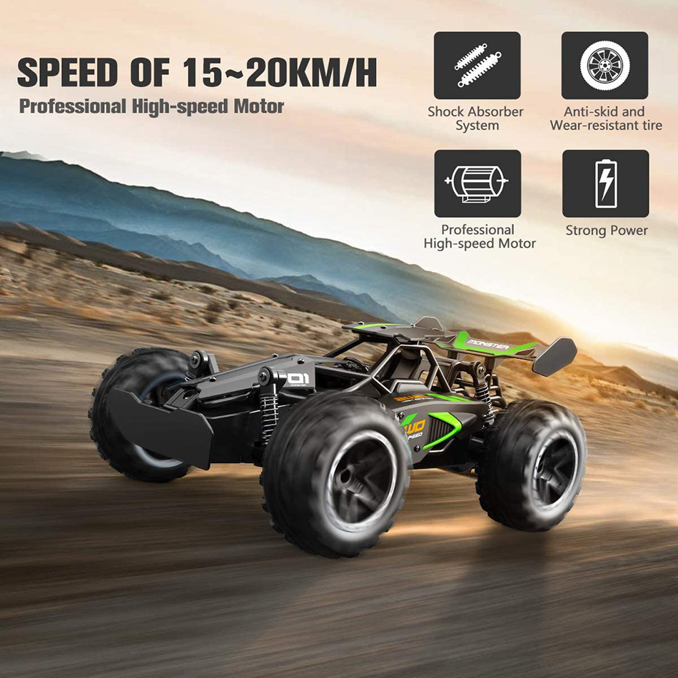 Outerman-RC-Car-118-Scale-2.4Ghz-Remote-Control-RC-Truck-High-Speed-Racing-Car-Electric-Toy-Car-RC-Auto-Cars-for-Adults-&-Kids-12