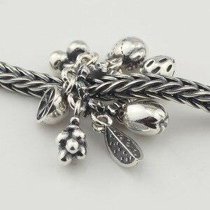 Image 5 - Silver Fruit Bear Charm Beads Silver 925 Original Beads Fit Original Bracelet Jewelry Bead for Jewelry Making Bead Pendants