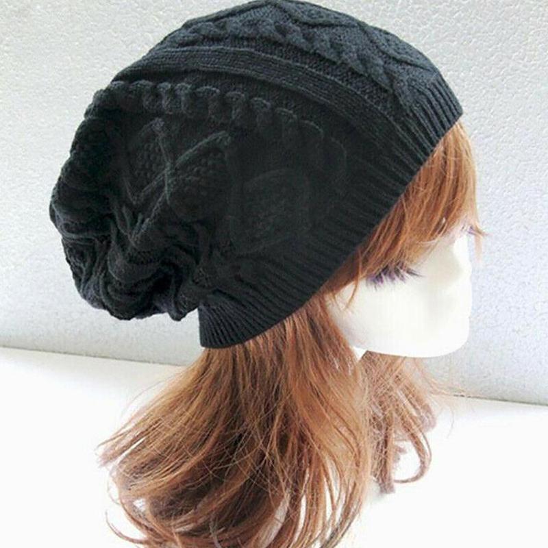 Winter Hat Small Twist Knit Beanie Hat European American Outdoor Men And Women Warm Skull Cap Bonnet Casual Pull Wool Hat