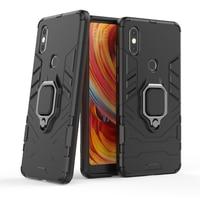 Für Xiomi Mi MiX 2s MiX2s MIMix2s Funda Capa Stoßfest Rüstung Fall für Xiaomi Mi Mix 2S Fall ring-Halter-Stand Telefon Zurück Abdeckung