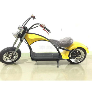 Retro Vintage Style Electric Vehicle Adult Electric Bicycle Motorcycle Scooter Big 2 Wheel 60V 12A/20A Lithium Battery