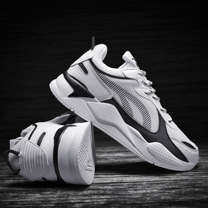 Image 4 - 高品質の男性の靴カジュアルスニーカーサファイアメッシュメンズ快適な通気性レースアップchaussureオムビッグサイズ 39 47
