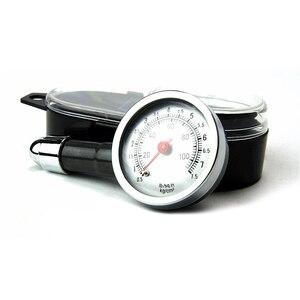 Image 5 - Manomètre analogique de pression dair de pneu de roue automatique, compteur poignée miroir en forme de véhicule, testeur de pneu de voiture, système de surveillance de lair