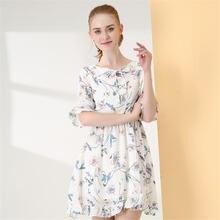 Ymwmhu Новое модное женское платье с бантом 2020 летняя повседневная