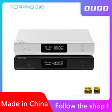 TOPPING D90/D90 MQA AK4499 AK4118 La equilibrado DAC Bluetooth 5,0 DSD512 Hi-Res decodificador Ultimate Edition(China)