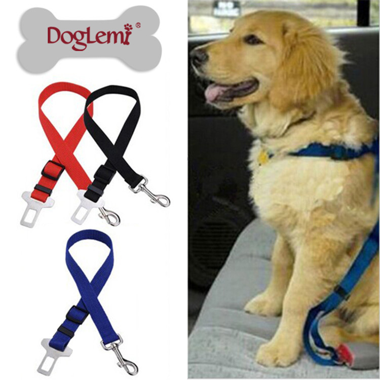 Manufacturers Car Safety Belt For Pet Seat Belt Pet Traction Belt Pet Fixing Band Dog Car