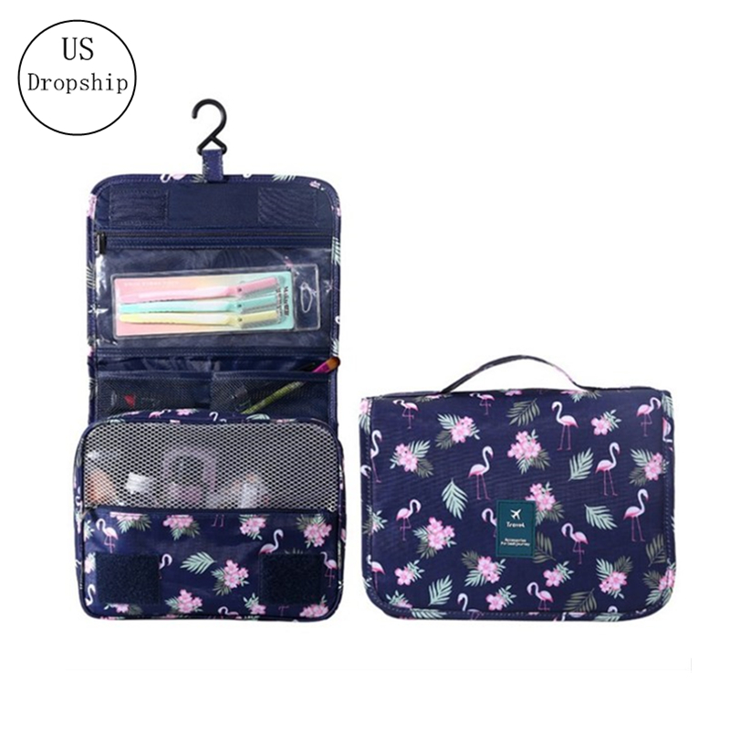 New Travel Items Wash Products Storage Bags Portable Women Men Bathroom Hanging Wash Bags Cosmetic Storage Organizer Bag