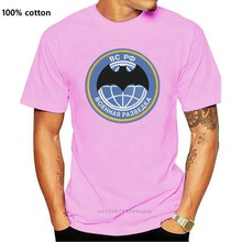 Camiseta masculina militar intellige em preto 100% algodão. camisetas hip-hop inclui frente russa
