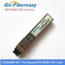 Módulo de hisense sfp LTE3680M BC + gpon olt class b + sfp transceptor módulo sc conector compatível com cartões de huwei e zte gpon