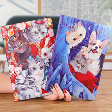 Case For Apple ipad Mini 5 2019 PU Leather Tiger Cartoon illustration Case For ipad Mini 4 3 2 1 Fashion stand smart cover lofter ladybird illustration protective pu leather case cover stand for retina ipad mini white