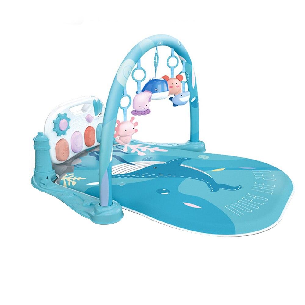 Tapis de jeu pour bébé tapis de Puzzle éducatif avec clavier de Piano Animal Musical bébé salle de sport tapis rampant jouets