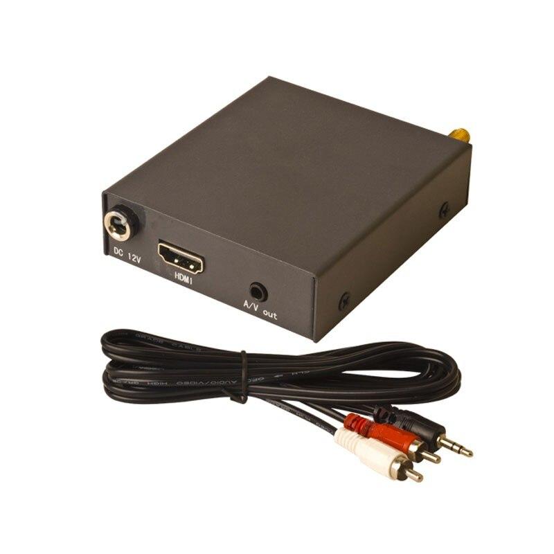 500mw/1000mw/2000mw COFDM Telemetry Transmission Receiver Set 2W Wireless Digital Audio Video Transmitter for UAV Drone Video 14