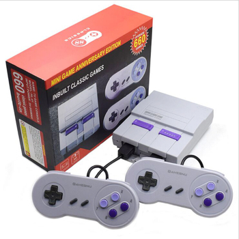 2018 New Retro Super Classic Game Mini TV 8 Bit Family TV Video Game Console Built-in 660 Games Handheld Gaming Player Gift 1
