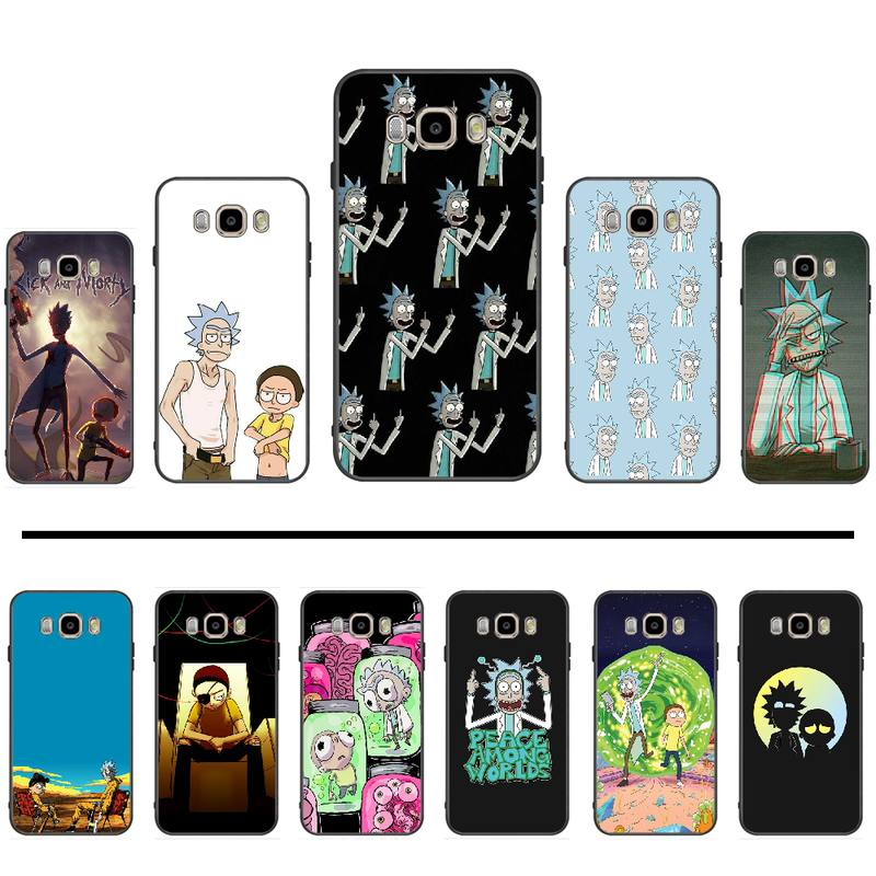 Rick And Morty Funny Cartoon Comic Phone Case Cover For Samsung Galaxy J2 J4 J5 J6 J7 J8 2016 2017 2018 Prime Pro plus Neo duo image