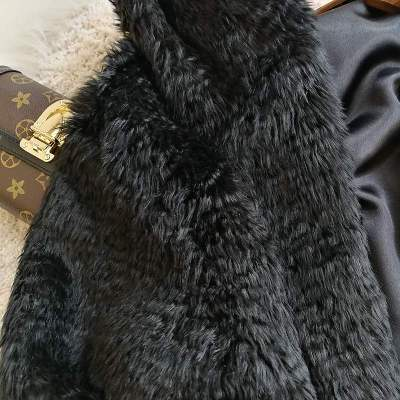 2020 New Style High-end Fashion Women Faux Fur Coat S115