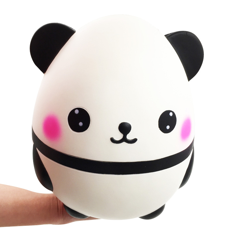 Giant Squishy Kawaii Panda Bear Egg Slow Rising Stress Relief Squeeze Toys For Baby Kids Xmas Gift