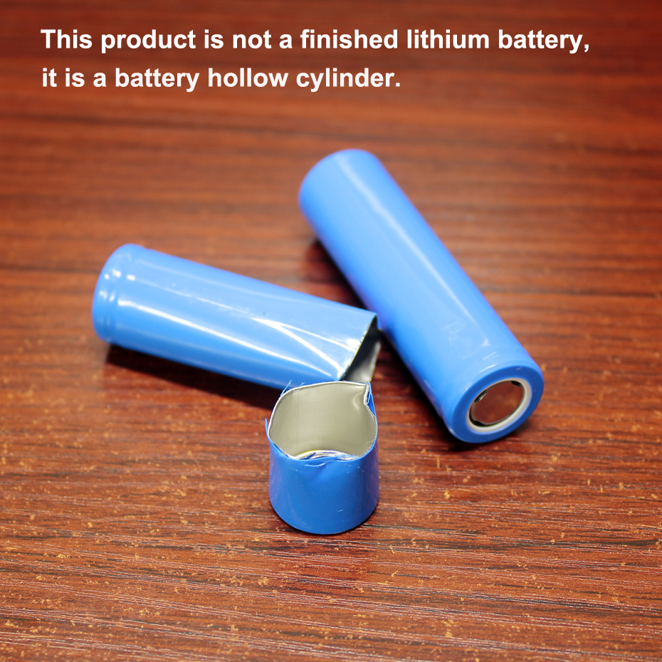 5pcs/lot 18650 Battery Hollow Steel Shell Mobile Power DIY Battery Placeholder