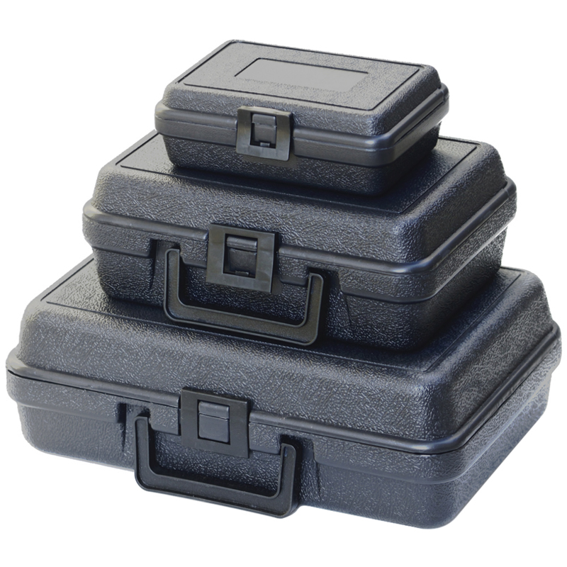 Light Weight Small Carrying Case ABS Safe Storage Bins Plastic Tool Box