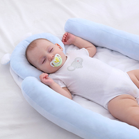 87*48*8cm Baby Nest Bed Portable Crib Travel Bed Infant Toddler Cotton Cradle For Newborn Baby Bassinet Bumpers