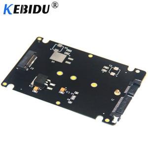 Kebidu NGFF M.2 SSD To 22Pin SATA III Converter Adapter With 2.5'' Enclosure 2280 2260 2242 2230 SSD M2 Solid State Hard Drive(China)