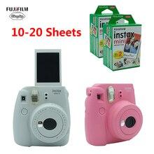 Fujifilm INSTAX Mini 9 กล้องฟิล์มของขวัญ Bundle ใหม่ 5 สีคริสต์มาสปีใหม่ของขวัญ Instant Camera กล้อง 2020 ใหม่