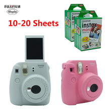Fujifilm INSTAX Mini 9 caméra instantanée Film cadeau paquet nouveau 5 couleurs noël nouvel an cadeau instantané appareil Photo caméra 2020 nouveau
