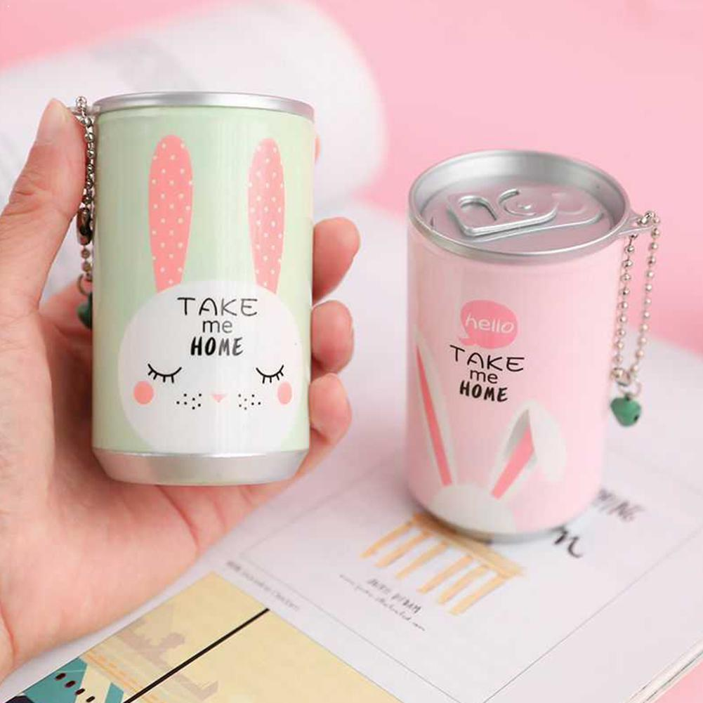 1pc Cute Cans Shape Wet Wipes For Hands Gently Clean 30pcs/bottle Wet Wipes Color Disinfection Portable Paper Towel Random T8R2