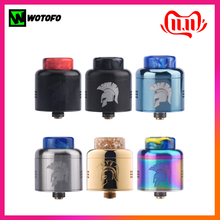 Clearance Wotofo Warrior RDA Tank 25mm Rebuilding Dripping Atomizer Electronic Cigarette 510 Thread RDA Vape Tank