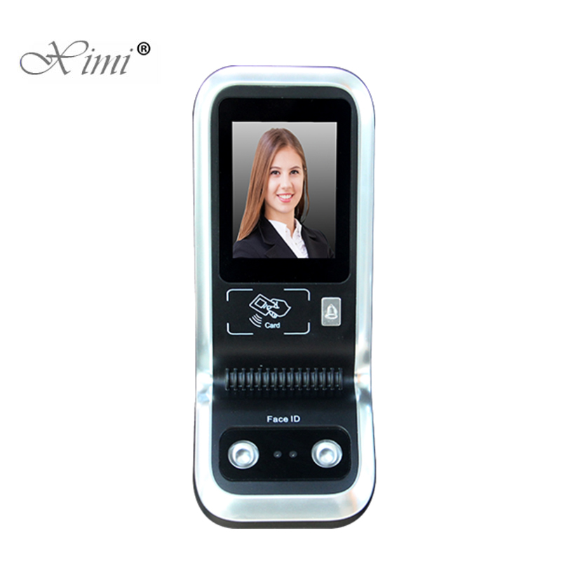 2.8 inch Touch Screen Biometric Security Camera Facial Access Control Face Recognition Door Access System With RFID Card Reader