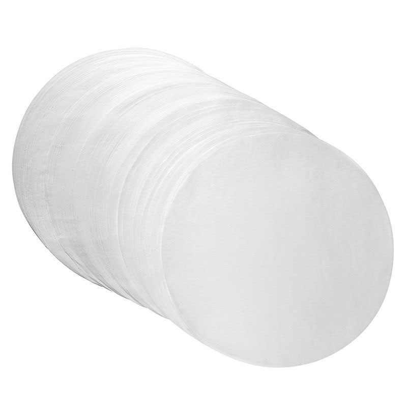Papel de hornear de silicona redondo de doble cara plato de Pizza antiadherente a prueba de grasa molde para pasteles y galletas accesorios para horno de barbacoa