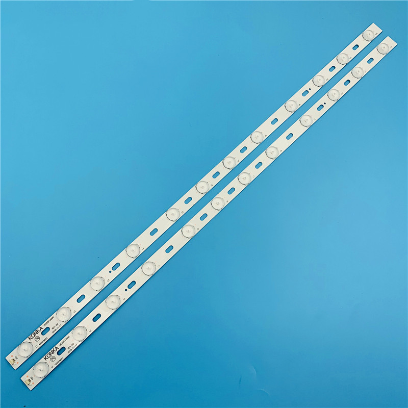 6 Pieces 32 Inch LED TV Backlight Lens Strips LED32F3300C 35016695 IC-BKKL32D019 For 32'' Konka 12-LEDs 640mm