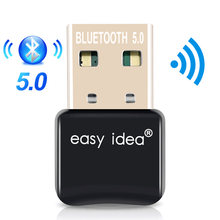 Usb bluetooth 5.0 adaptador usb bluetooth dongle mini bluetooth 5.0 receptor áudio música dente azul 4.0 transmissor para computador