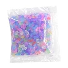 Beach Glass Beads DIY Crystal Epoxy Filler UV Glue Insert Crystal Sand Glass Sea Glass