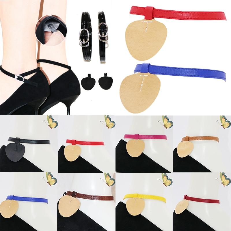Hot Triangle Bundle Shoelace For High Heel Anti-skid Shoes Women Solid Color Shoe Belt Ankle Shoe Tie DIY Handmade Shoes Belts
